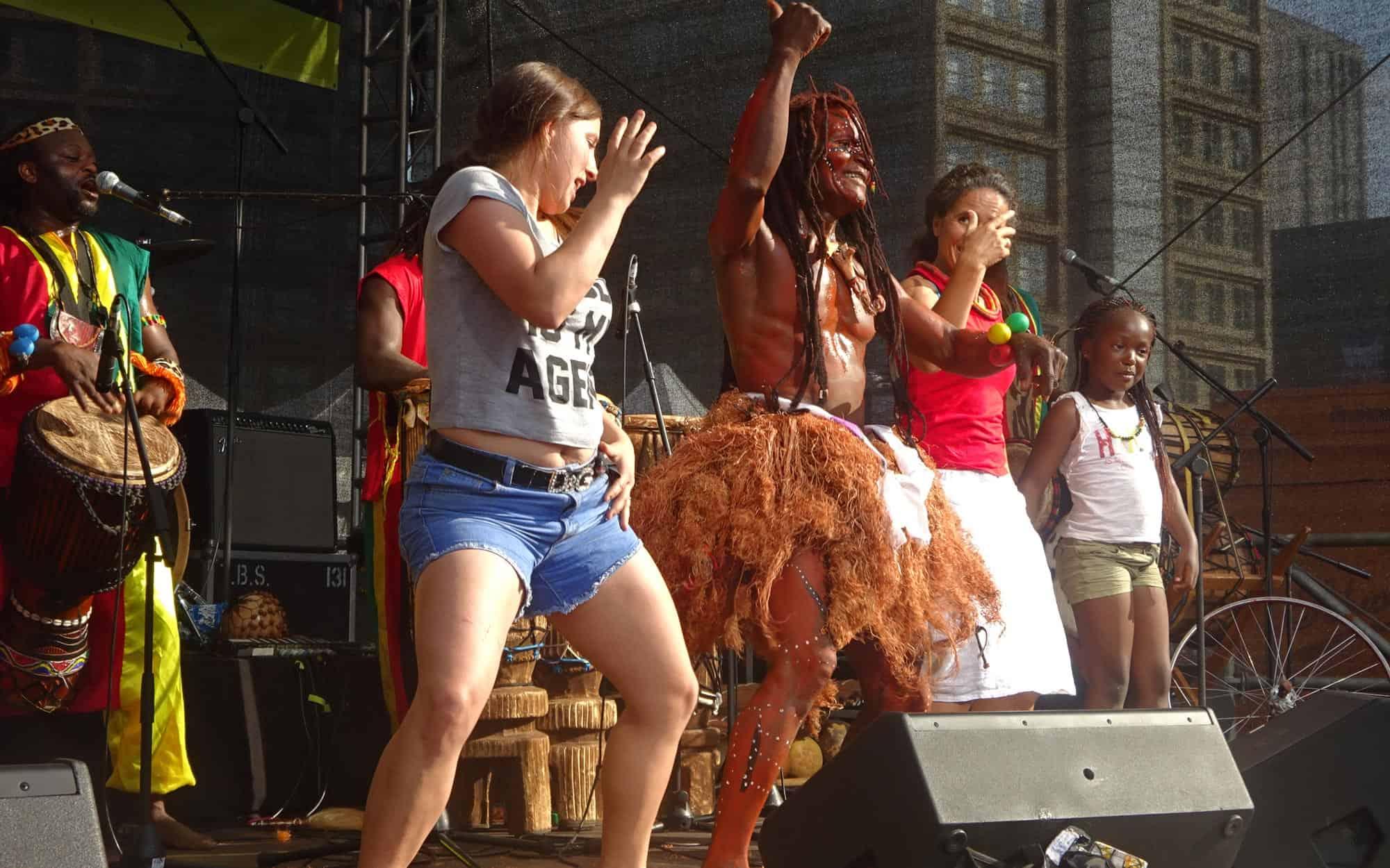Afrikanische Trommel & Tanz Band aus Leipzig